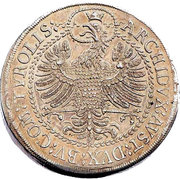 3 Thaler - Leopold I (Hall) -  reverse