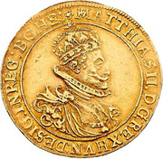 5 Ducat - Matthias II (Vienna) – obverse