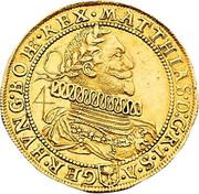 4 Ducat - Matthias II (Vienna) -  obverse