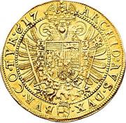 4 Ducat - Matthias II (Vienna) -  reverse