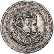 2 Thaler - Ferdinand II (Wedding; St Veit) – obverse