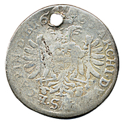 6 Kreuzer - Leopold I (St Veit) -  reverse