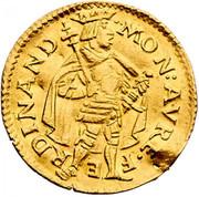1 Ducat - Goldgulden - Ferdinand I (Vienna)) -  obverse