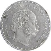 20 Kreuzer - Franz Joseph I -  obverse