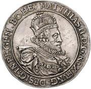 1 Thaler - Matthias II (Vienna) -  obverse