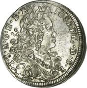 3 Kreuzer - Joseph I (München) -  obverse