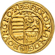 1 Ducat - Ferdinand I (Linz) -  obverse