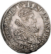 1 Kippertaler of 150 - Ferdinand II (Graz) -  obverse