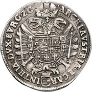 1 Thaler - Ferdinand II (Klagenfurt) -  reverse