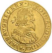 10 Ducat - Ferdinand III (Vienna) -  obverse