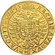 10 Ducat - Ferdinand III (Vienna) -  reverse