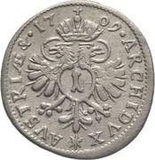 1 Kreuzer- Joseph I (München) -  reverse