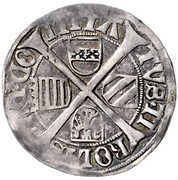 6 Kreuzer Sechser - Maximilian I (Hall) -  reverse