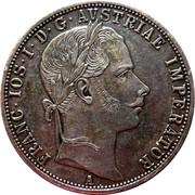 1 Florin - Franz Joseph I -  obverse