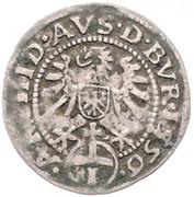 1 Kreuzer - Ferdinand I (Hall) -  reverse
