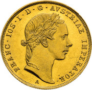 1 Ducat - Franz Joseph I – obverse