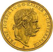 1 Krone - Franz Joseph I -  obverse