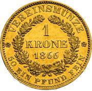 1 Krone - Franz Joseph I -  reverse