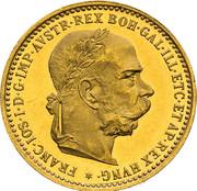 10 Corona - Franz Joseph I (patterns) -  obverse