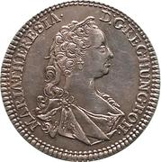 ¼ Thaler - Maria Theresia (Hall) -  obverse
