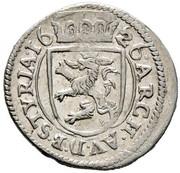 2 Kreuzer - Ferdinand II (Graz) -  reverse