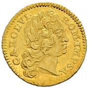 ¼ Ducat - Karl VI (Vienna) -  obverse