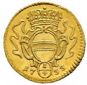¼ Ducat - Karl VI (Vienna) -  reverse