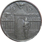 1 Heller (K&K POW Kleinmünchen) -  reverse