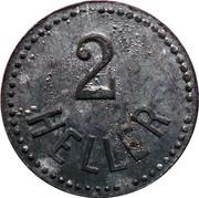 2 Heller (K&K POW Grödig) – reverse