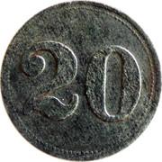 20 Heller (K&K POW Ausserfelden) – reverse