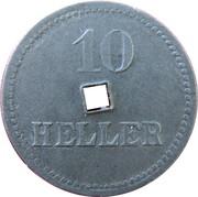 10 Heller (K&K POW Braunau) -  reverse