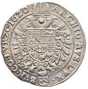 ½ Thaler - Ferdinand II (Vienna) -  reverse