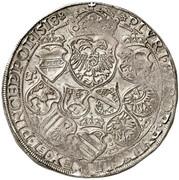 1 Guldiner - Maximilian I (St Veit) -  reverse
