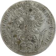 10 Kreuzer - Joseph II -  reverse