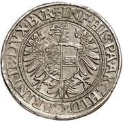 1 Thaler - Ferdinand I (Klagenfurt) -  reverse