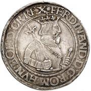 1 Reichsthaler - 72 kreuzer - Ferdinand I (Klagenfurt) -  obverse