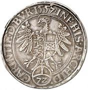 1 Reichsthaler - 72 kreuzer - Ferdinand I (Klagenfurt) -  reverse