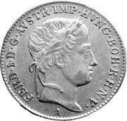 5 Kreuzer - Ferdinand I -  obverse