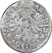 1 Kreuzer - Ferdinand II (St Pölten) -  reverse