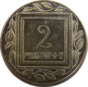 2 Heller (K&K POW Freistadt) – reverse