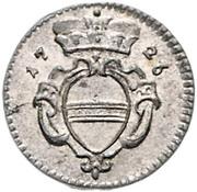 1 Pfennig - Karl VI (Vienna) -  obverse