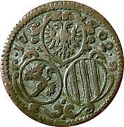 2 Pfennig - Leopold I (Graz) – obverse