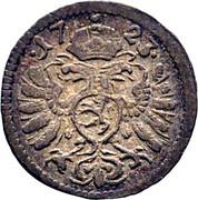 1 Pfennig - Karl VI (Graz) – obverse