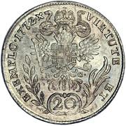 20 Kreuzer - Joseph II -  reverse