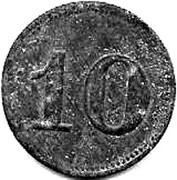 10 Heller (K&K POW Ausserfelden) -  reverse