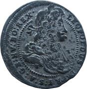 1 Kreuzer landmünz - Leopold I (Vienna) -  obverse