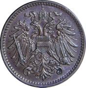 1 Heller - Karl I -  obverse
