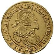 5 Ducat - Ferdinand III (Vienna) – obverse