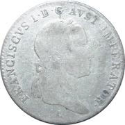 5 Kreuzer - Franz II -  obverse