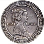 1 Guldiner - Maximilian I (Hall) -  reverse